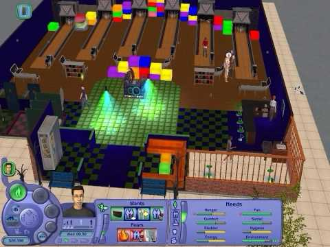 The Sims 2 Nightlife Gameplay HD