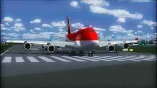 Video AVIANCA 747 TAKE OFF  DUBLIN AIRPORT FS9 download MP3, 3GP, MP4, WEBM, AVI, FLV Juni 2018