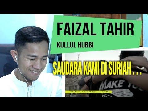 FAIZAL TAHIR #KULLUL HUBBI - INDONESIAN REACT TO MALAYSIA SONG #36