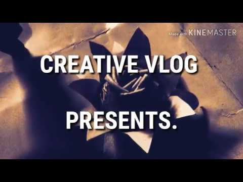 How to make flowers/lotus with waste things paper cups  creative vlog..