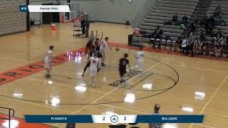 Keenan Stolz Varsity Basketball Highlights - Junior year 2017-2018