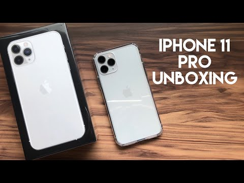 Unboxing The Apple IPhone 11 Pro!