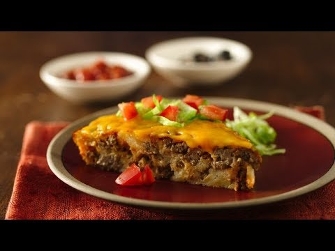 Impossibly Easy Taco Pie | Betty Crocker Recipe