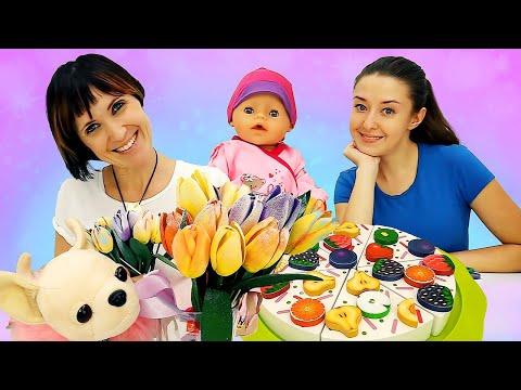 Видео с куклами. Беби Бон. Веселая Школа и Маша Капуки Кануки