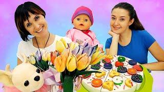 Детские видео, развивающие мультики и игры в игрушки с Беби Бон. Веселая Школа и Маша Капуки Кануки