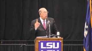 lieutenant general russel l honore addresses e j ourso college of business 2012 commencement