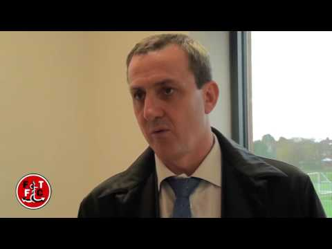 INTERVIEW: Andy Pilley on first day at Poolfoot Farm
