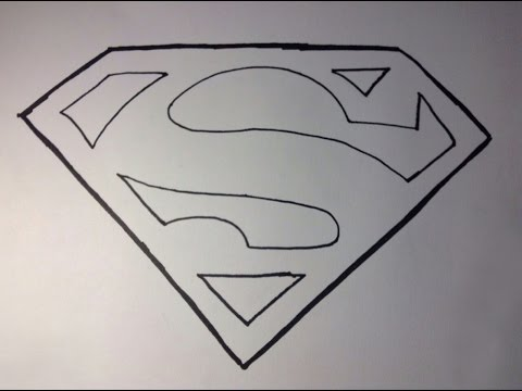 How To Draw Superman's Logo