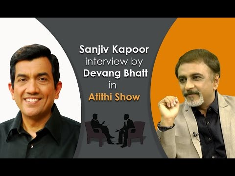 Chef  Sanjeev Kapoor | Khana Khazana Recipes Fame | Intervie