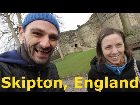 Exploring an English Castle in Skipton, Yorkshire