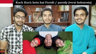 Foreigner Reacts To: Kuch Kuch hota hai Parodi / parody (versi Indonesia)