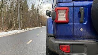 Jeep Wrangler - быстрее спорт купе или внедорожная дурь, разгон 0 - 100