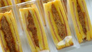 สูตรแซนวิซโบราณ  Sandwich Thai style