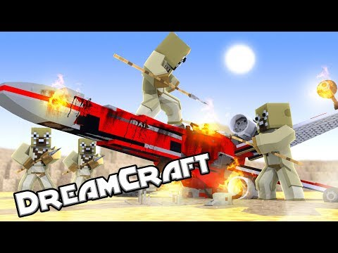 Star Wars Movie - Captured on Tatooine! (Minecraft Dream Craft) #5
