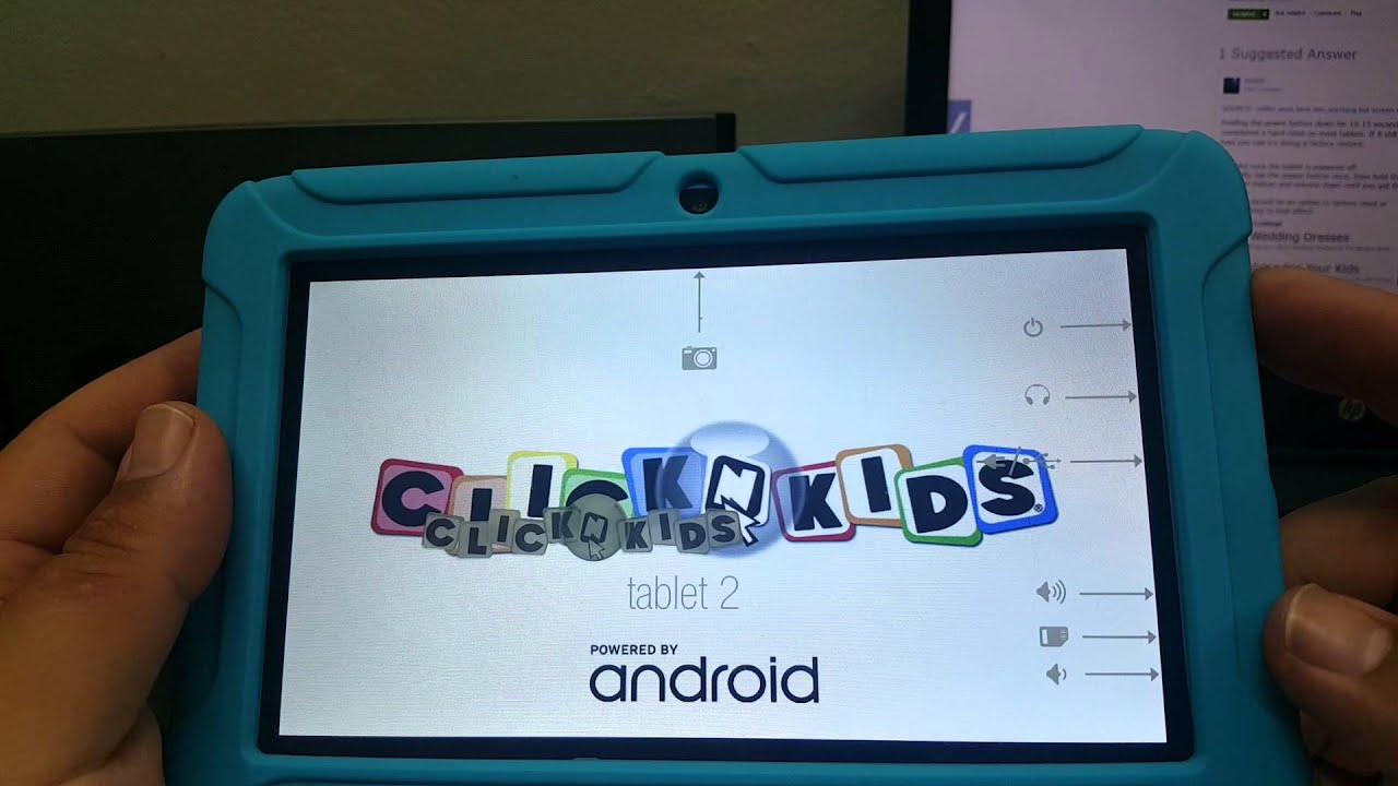 Click N Kids 2 Tablet Factory Reset