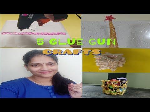 5 DIY ways to use a GLUE GUN