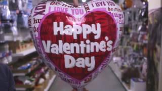 Воздушные шарики на День Святого Валентина - обзор новинок Anagram