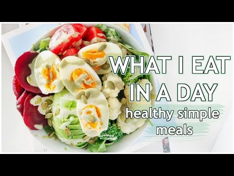 What I Eat In A Day | Healthy Meals For Busy People