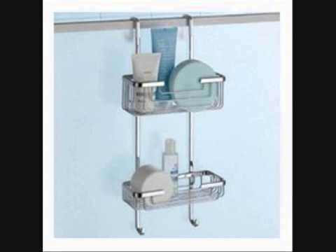 Portaoggetti doccia youtube for Mensole per doccia ikea