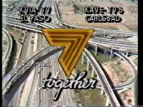 KVIA News 7 10PM Open (1985)