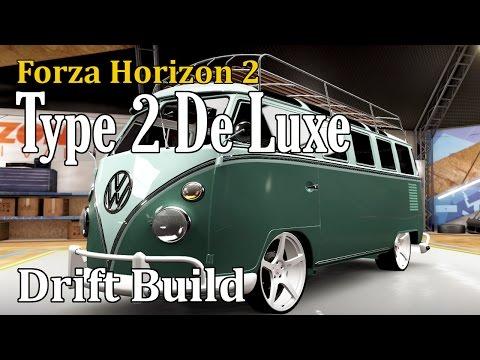 Forza Horizon 2 - VW Type 2 De Luxe - Drift Build & Tune (V8 Drift Van)