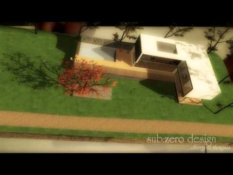 Augmented Reality ~ Modern House (Sub-Zero Design 3D Studio ~ Ho Chi Minh City, Vietnam)