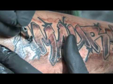 urban ink nb40 graffiti tattoo youtube. Black Bedroom Furniture Sets. Home Design Ideas