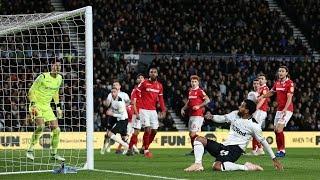 SHORT MATCH HIGHLIGHTS   Derby County 0-0 Nottingham Forest