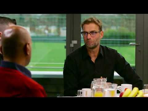 Jurgen Klopp talking about the importance of Grassroots coaches
