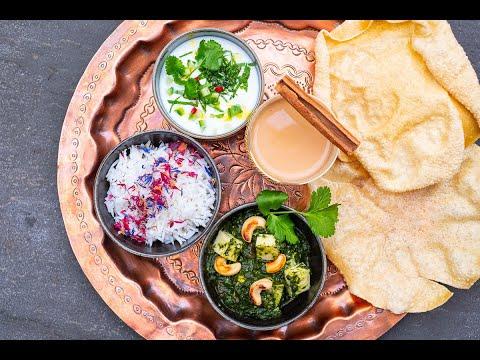 Palak Paneer gelingsicher authentisch mit den Chefkoch Tipps von Thomas Sixt zubereiten