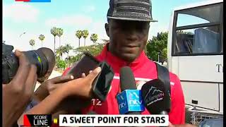 A sweet point for Stars as they return from Egypt | Scoreline