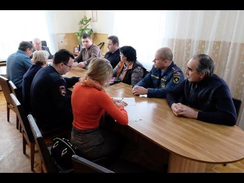 В Кочубеевском районе состоялось заседание комиссии по безопасности дорожного движения