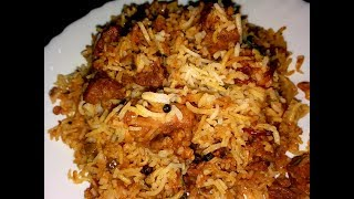 Pressure cooker mutton biriyani by cooking with Girija /Easy mutton biriyani recipe