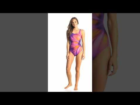 fbfad5992a Gottex Belle Fleur Mastectomy One Piece Swimsuit | SwimOutlet.com ...