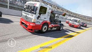 Forza Motorsport 6 Semi Truck NASCAR RACING With Subscribers