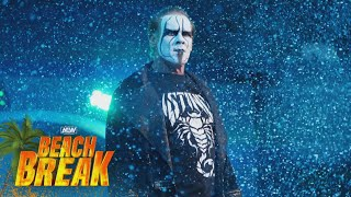 Sting Has Some Harsh Words for Team Taz | AEW Beach Break