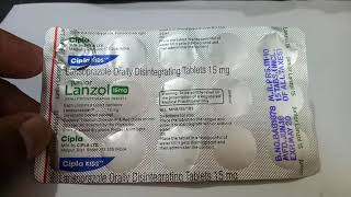Junior Lanzol 15 MG Tablet - Uses, Dosage, Side Effects, Price