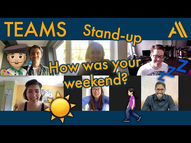 What does a REAL daily stand-up look like for a Scrum team in isolation? | Agile Avengers COVideo
