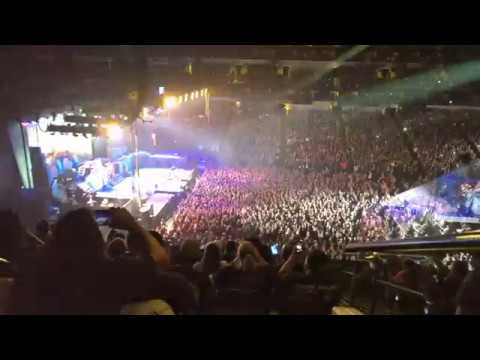 Iron Maiden - The Trooper & Powerslave (Live) American Airlines Center Dallas, TX June 23, 2017