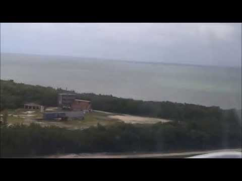 Taking off from Owen Roberts Airport, Grand Cayman Island