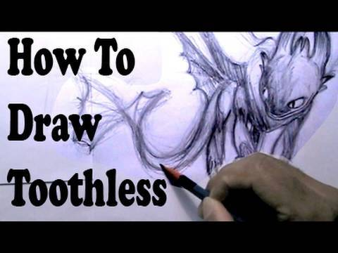 How To Draw: How To Train Your Dragon
