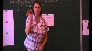 15 12 2015 г  открытый урок английского языка в 3 классе
