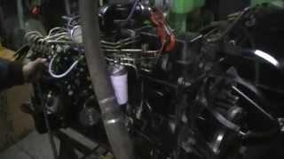Запуск двигуна Cummins B5.9-З (Дизель, 6 цил. у ряд.,Обсяг 5.9 л., потуж-ть 148 л. с.)