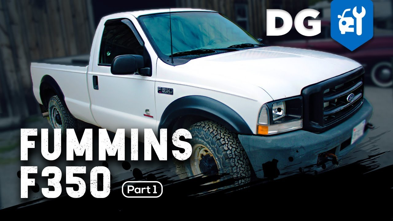 fummins diesel swap: 5 9 cummins in an '04 ford f350 (part 1)