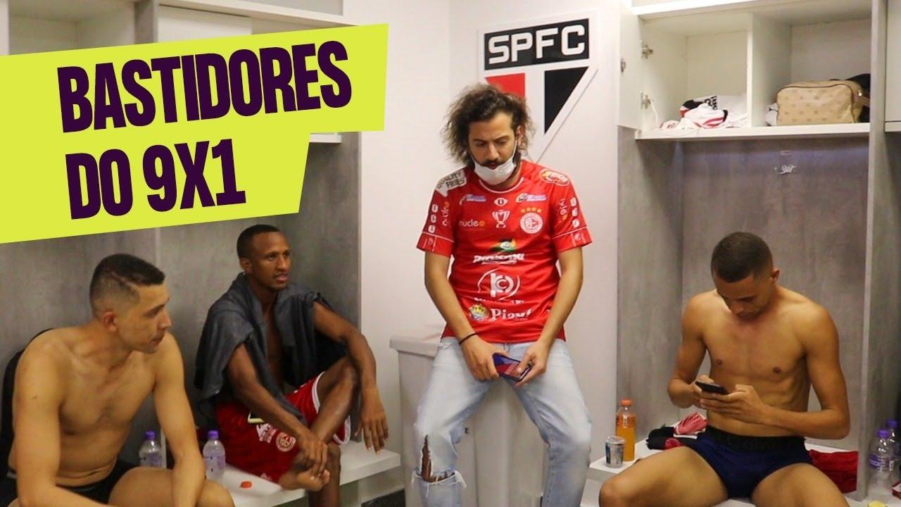 SOFRIMENTO DO 4 DE JULHO CONTRA O SÃO PAULO NA COPA DO BRASIL!