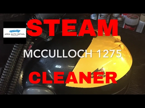 Should you buy the McCulloch 1275 steam cleaner?! ( A great little unit for mobile detailing)