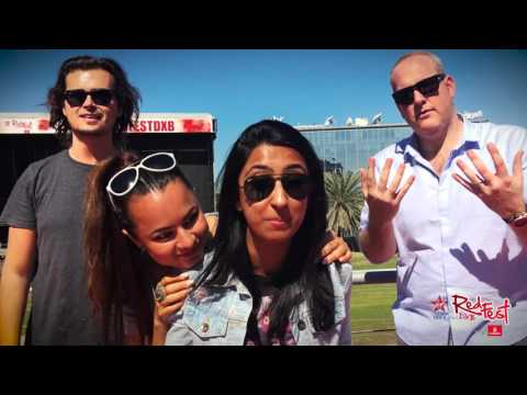 Virgin Radio Dubai hits up the RedFestDXB venue