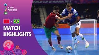 Morocco v Brazil | FIFA Futsal World Cup 2021 | Match Highlights