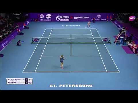 2018 St. Petersburg Open Final | Shot of the Day | Petra Kvitova