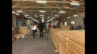 Производство клееного бруса(, 2012-08-03T04:40:04.000Z)